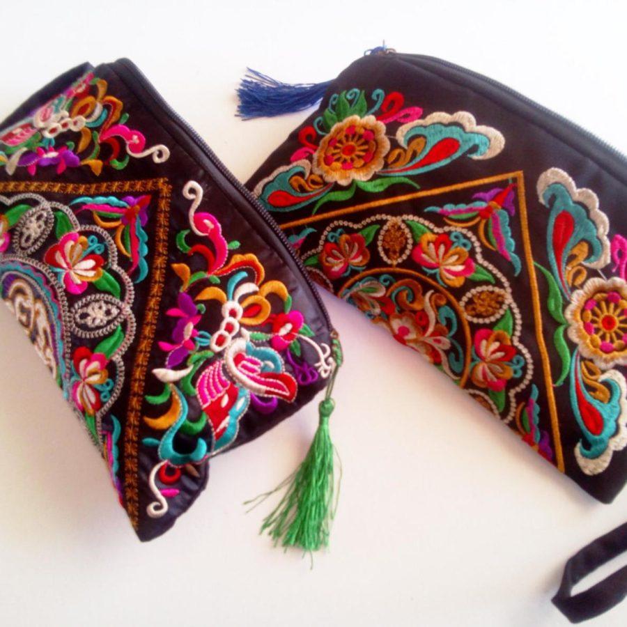 Boho-Handembroidered-Clutch-wrist-purses-handwoven-handmade-etsy