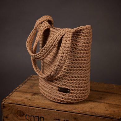 Crochet bag-handmade-etsy-Knit-handbag-Shopper-Shoulder
