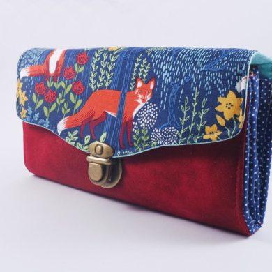 Fox-Women-wallet-animals-handmade-etsy