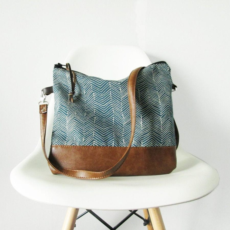 Geometric-Crossbody-leather-bag-Shoulder-Slouchy-Everyday -handmade-etsy