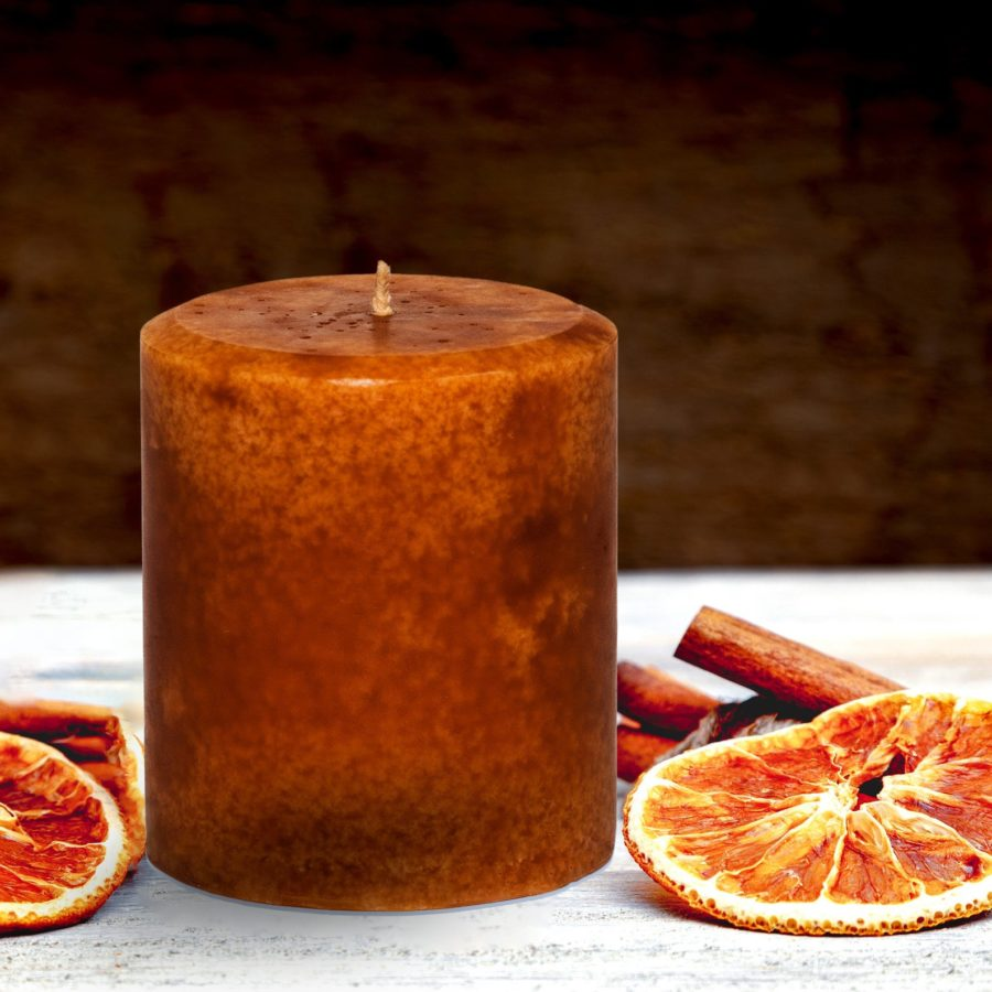 Handmade-Cinnamon-Orange-Candle-Pillar-Decorative-etsy