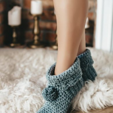 Indoor-knitted-slippers-Socks-Boots-House-handmade-etsy