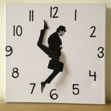 John-Cleese-wooden-wall-clock-handmade-etsy