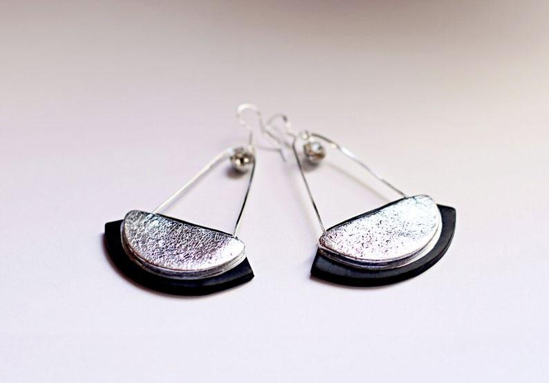 Long-dangles-Clip-on-handmade-earrings-by-gitasjewelryshop-on-etsy