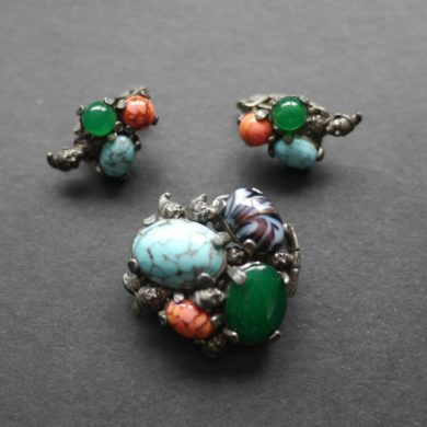 Miracl-brooch-matching-earrings-pixies-handmade-etsy.