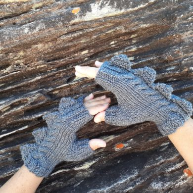 Monster-grey-fingerless-mitten-gloves-100-pure-Australian-wool-handmade-etsy