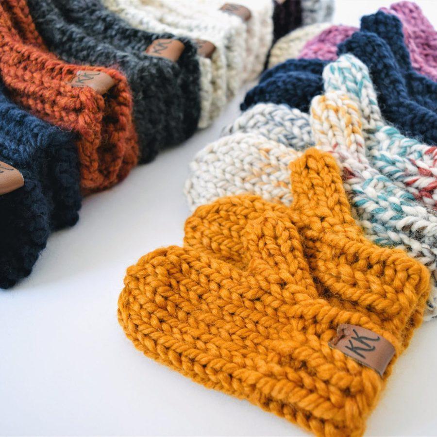 Multicolorknitted-Mitten-handmade-etsy