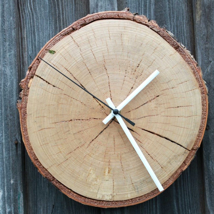 Natural-Birch-Wall-Clock-handmade-etsy.