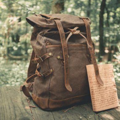 Oil-Waxed-Canvas-Genuine-Leather-Backpack-handmade-etsy