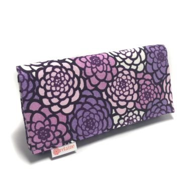 Purple-chrysanthemum-wallet-Zippered-Japanese-handmade-etsy