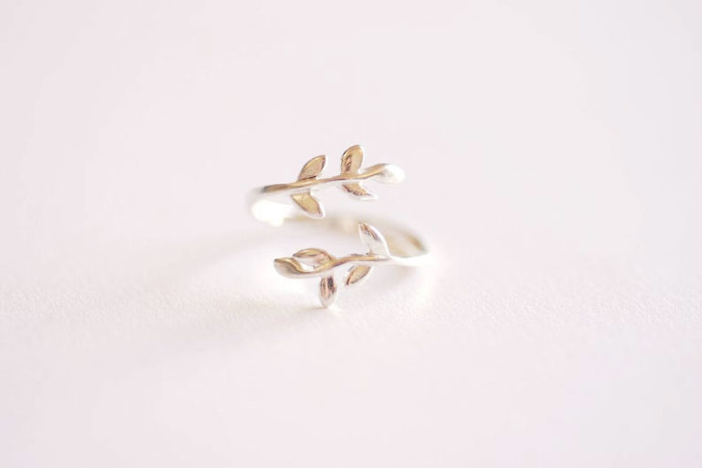 Sterling-Silver-Leaf-Branch-handmade-Ring-by-vermeilsupplies-on-etsy
