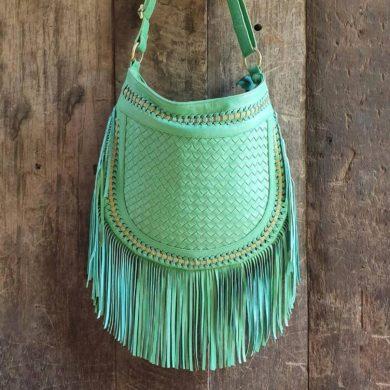 Turquoise-Leather-Fringe-Bag-Crossbody-boho-handmade-etsy