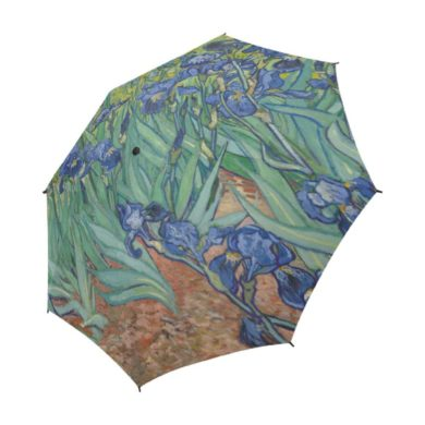 Vincent-VanGogh-Semi-Automatic-Foldable-Umbrella-handmade-etsy.