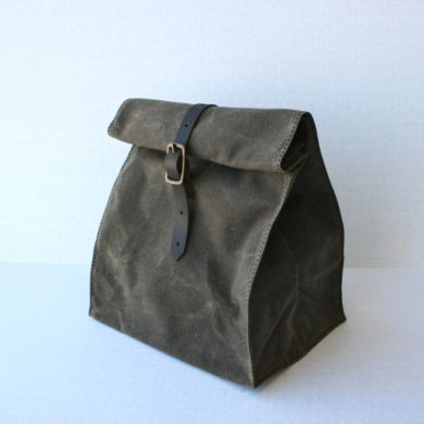Waxed-Canvas-Lunch-Bag-handmade-etsy