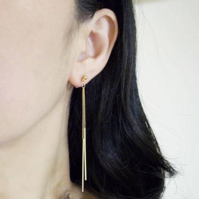 long-gold-bar-clipon-handmade-earrings-by-miyabigrace-on-etsy
